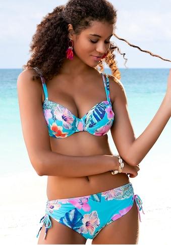LASCANA Bügel-Bikini, sommerlich bedruckt kaufen