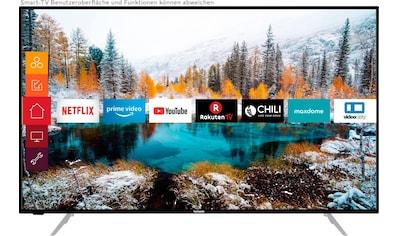 Telefunken D55V800M4CWH LED - Fernseher (139 cm / (55 Zoll), 4K Ultra HD, Smart - TV kaufen