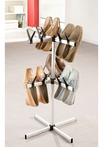 Ruco Schuhregal, Aluminium/Kunststoff, für 16 Paar Schuhe kaufen