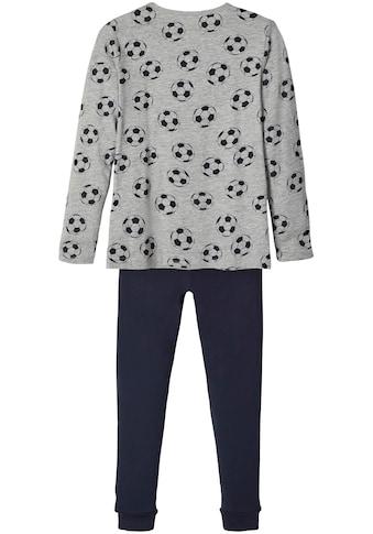 Name It Schlafanzug, (Set, 2 tlg.), für Fussballfans kaufen
