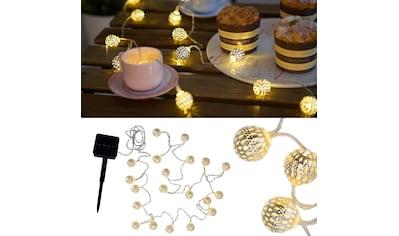 Pauleen LED-Lichterkette »Sunshine Glamour«, Solarbetrieben kaufen