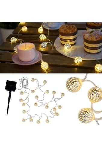 Pauleen LED-Lichterkette »Sunshine Glamour«, 20 St.-flammig, Solarbetrieben kaufen