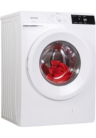 GORENJE Waschmaschine »WE 743 P«, WE743P, 7 kg, 1400 U/min kaufen