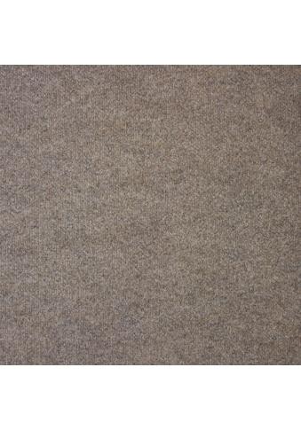 Teppichfliese »Madison«, quadratisch, 6 mm Höhe, beige, selbstliegend kaufen