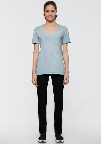 LTB V-Shirt »COCIPO«, mit Spitzendetail am Ausschnitt kaufen