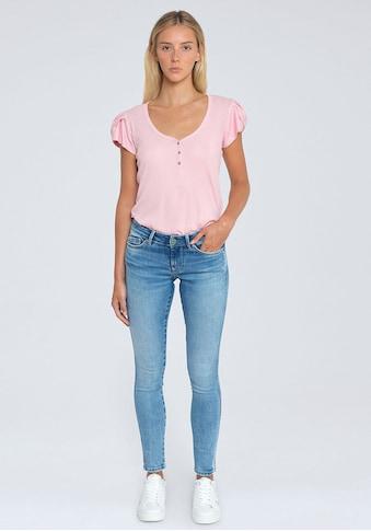 Pepe Jeans Röhrenjeans »PIXIE STITCH«, im 5-Pocket-Stil mit Stretch-Anteil und... kaufen