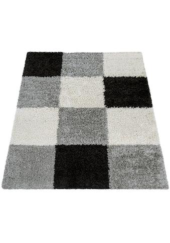 Hochflor - Teppich, »Mango 316«, Paco Home, rechteckig, Höhe 35 mm, maschinell gewebt kaufen