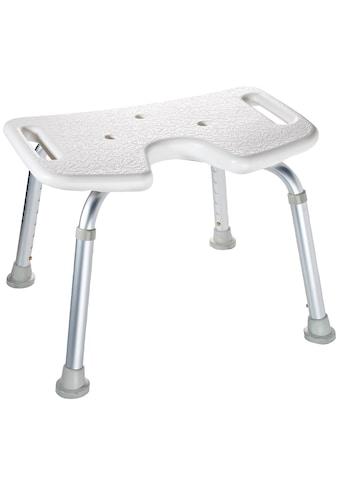 RIDDER Duschhocker »Comfort«, mit Hygieneausschnitt, Gewicht: 2,37 Kg kaufen