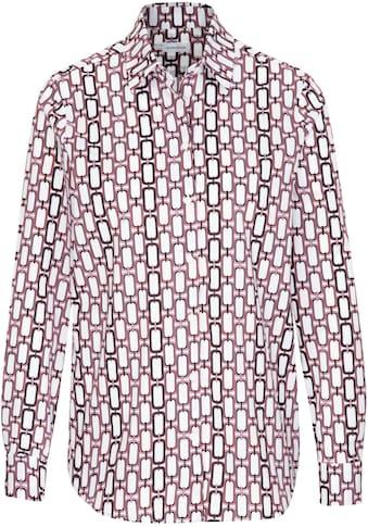 seidensticker Hemdbluse, mit Allover-Druck in Kettenoptik kaufen