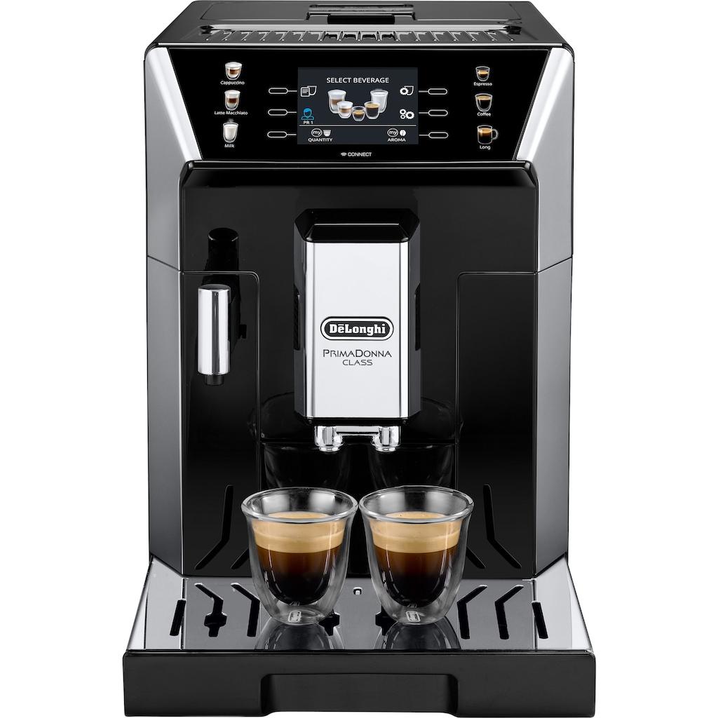 De'Longhi Kaffeevollautomat »PrimaDonna Class ECAM 550.65.SB, schwarz«