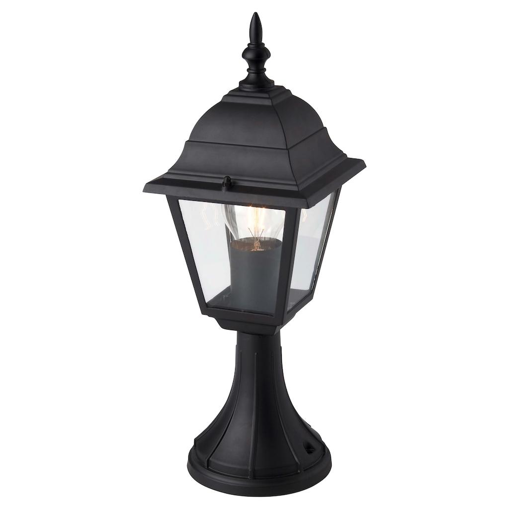 Brilliant Leuchten Newport Außensockelleuchte 41cm schwarz