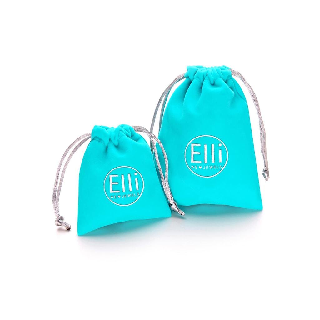 Elli Ketten-Set »Halskette Choker Set Basic Schlangen Ankerkette, 0112391719«, (Set, 2 tlg.)