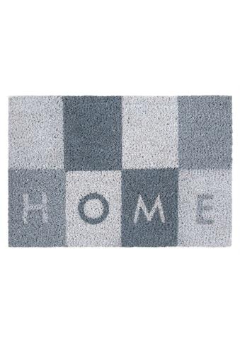 Andiamo Fußmatte »Kokos Home«, rechteckig, 17 mm Höhe, Schmutzfangmatte, mit Spruch,... kaufen