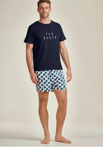 Ted Baker Shorty, bedruckte Web-Shorts kaufen