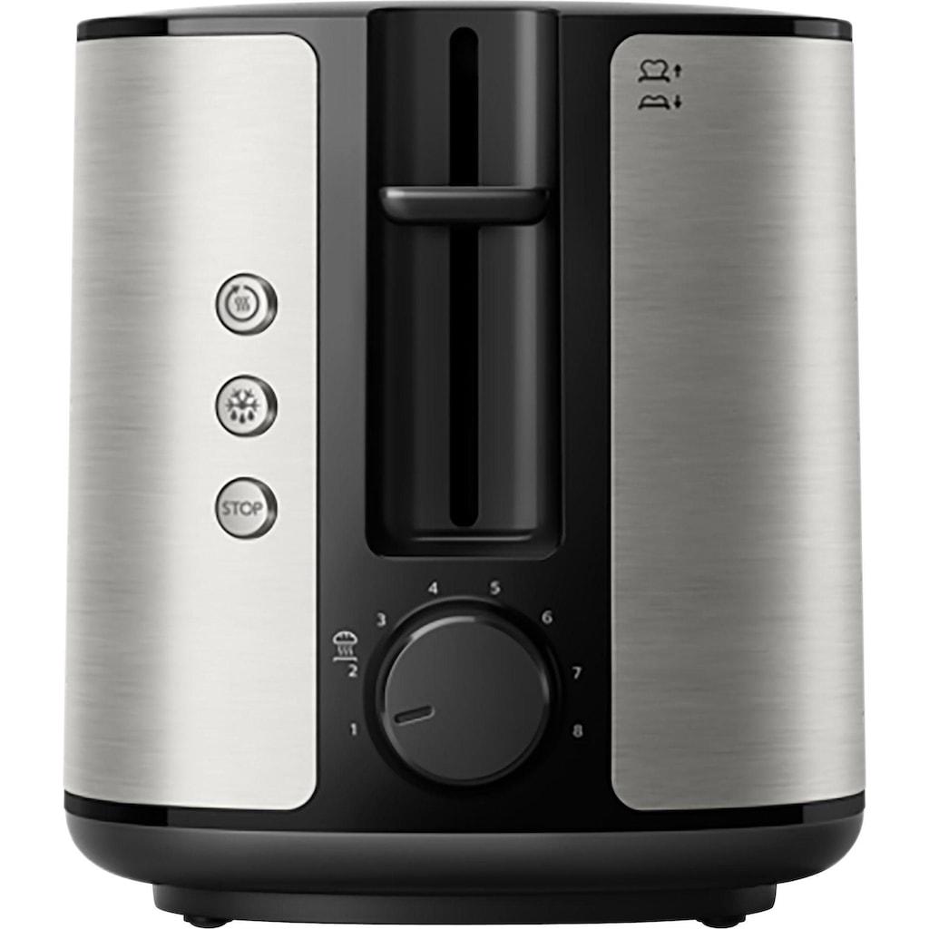 Philips Toaster »HD2650/90, zwei Toastkammern, 950 W«, 2 kurze Schlitze, für 2 Scheiben, 950 W