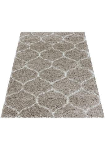 Ayyildiz Hochflor-Teppich »SALSA 3201«, rechteckig, 50 mm Höhe, Wohnzimmer kaufen