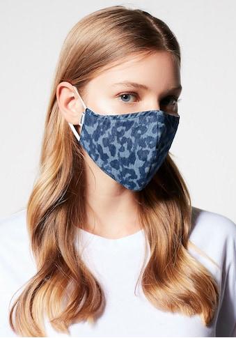 Mavi Mund-Nasen-Maske »Maske laser leo«, mit stlysichen Muster kaufen
