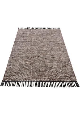 Teppich, »Kelim Nadi«, carpetfine, rechteckig, Höhe 5 mm, handgewebt kaufen