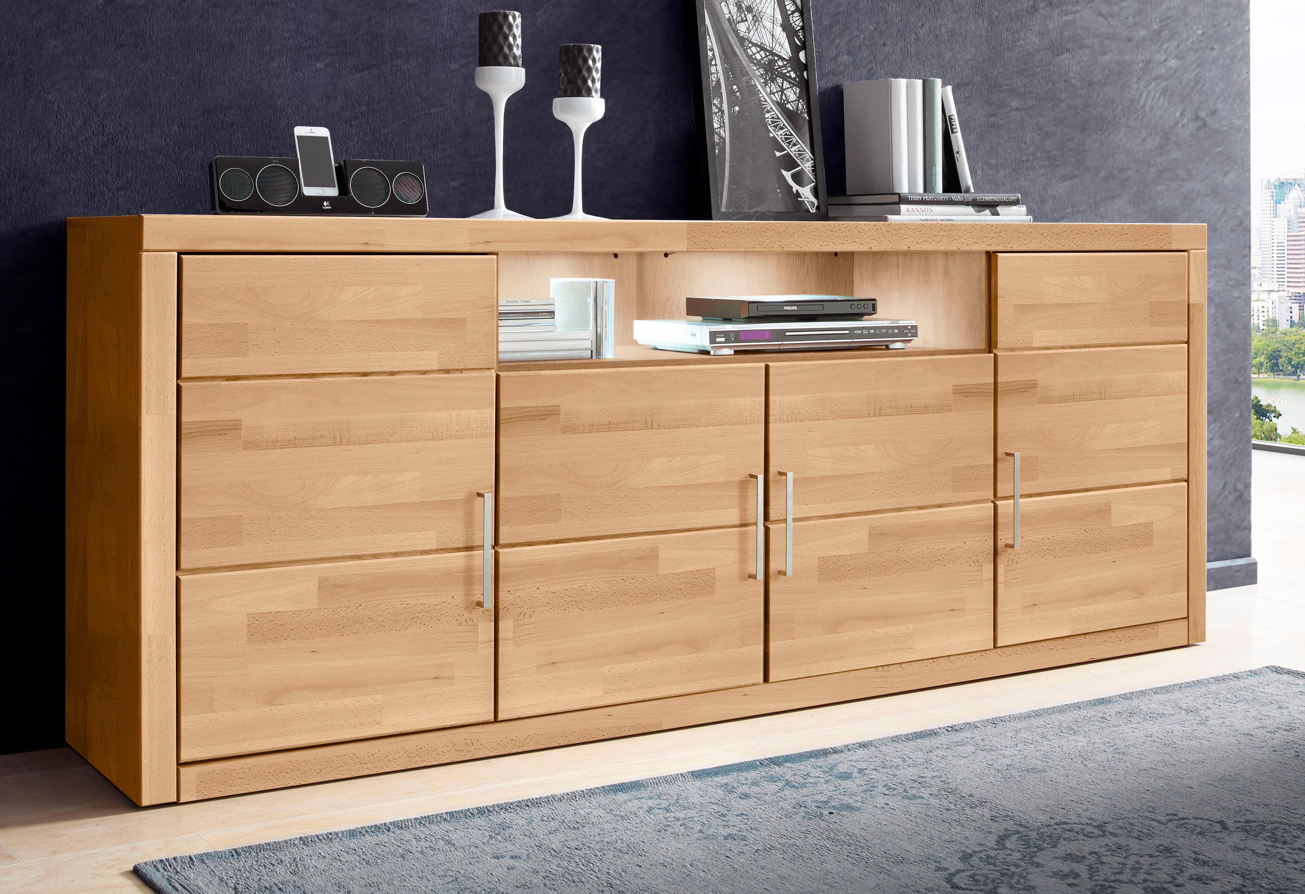 places of style sideboard breite 200 cm auf rechnung. Black Bedroom Furniture Sets. Home Design Ideas