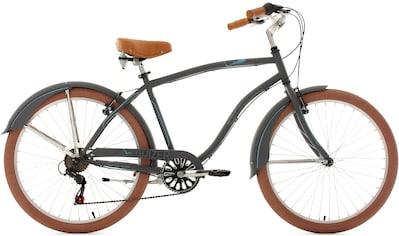 KS Cycling Cruiser »Cruizer«, 6 Gang Shimano Tourney Schaltwerk, Kettenschaltung kaufen