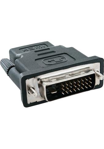 Schwaiger HDMI-/DVI-D Adapter zur digitalen Bild und Ton Übertragung »für PC, TV, Beamer« kaufen