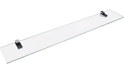 Fackelmann Ablage »aus Glas«, Breite 80 cm kaufen