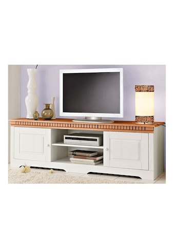 Home affaire Lowboard »Lisa«, aus schönem massivem Kiefernholz, Breite 175 cm kaufen