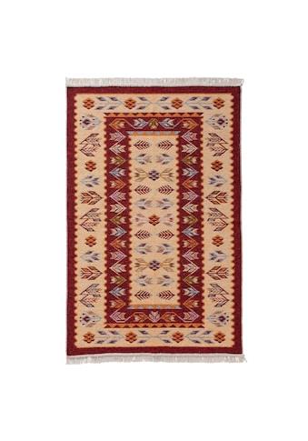 Sehrazat Teppich »Tulum 9920«, rechteckig, 5 mm Höhe, Wendeteppich, waschbar, Wohnzimmer kaufen