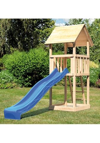 ABUKI Spielturm »Rosie 2«, BxT: 107x107 cm, mit Rutsche kaufen