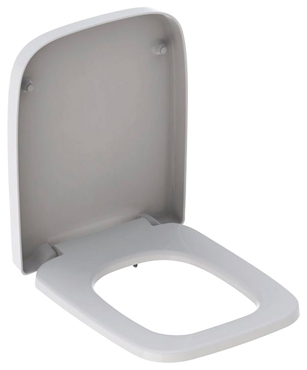 KERAMAG WC-Sitz »RENOVA Nr. 1 PLAN« | Bad > WCs > WC-Becken | Weiß | Mdf - Edelstahl | KERAMAG