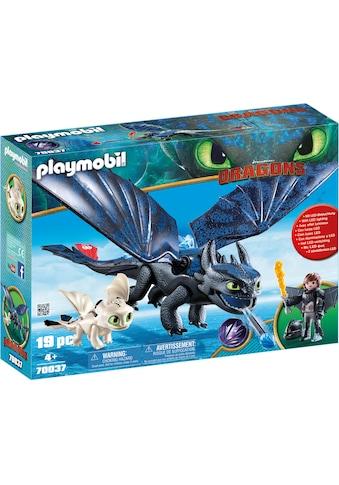 Playmobil® Konstruktions-Spielset »Ohnezahn und Hicks Spielset (70037), Dragons«, Made in Germany kaufen