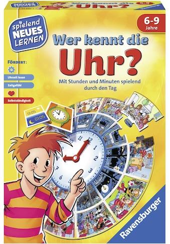 Ravensburger Spiel »Wer kennt die Uhr?«, Made in Europe, FSC® - schützt Wald - weltweit kaufen