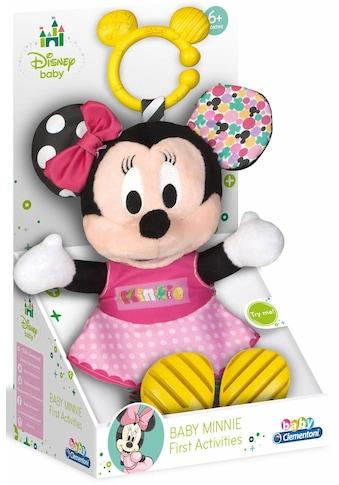 """Clementoni® Plüschfigur """"Disney Baby, Plüsch Minnie mit Beißring"""" kaufen"""
