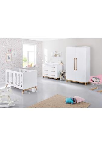 Pinolino® Babyzimmer-Komplettset »Riva«, (Set, 3 St.), extrabreit; mit Kinderbett,... kaufen