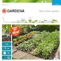 GARDENA Bewässerungssystem »Micro-Drip-System, 13015-20«, Start-Set Pflanzflächen