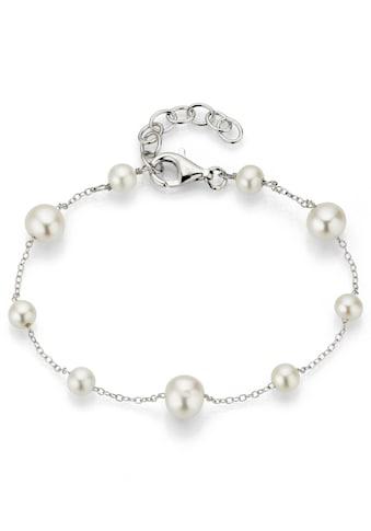 Firetti Silberarmband »rhodiniert, rund, zeitlos schön und schimmernd«, mit... kaufen