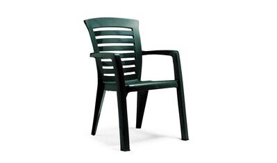 Best Gartenstuhl »Florida«, 2er Set, Kunststoff, stapelbar, grün kaufen