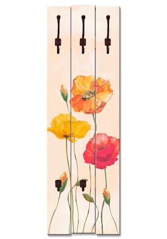Artland Garderobenpaneel »Bunte Mohnblumen« kaufen