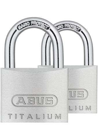 ABUS Vorhängeschloss »64TI/30 Twins B/SB« kaufen