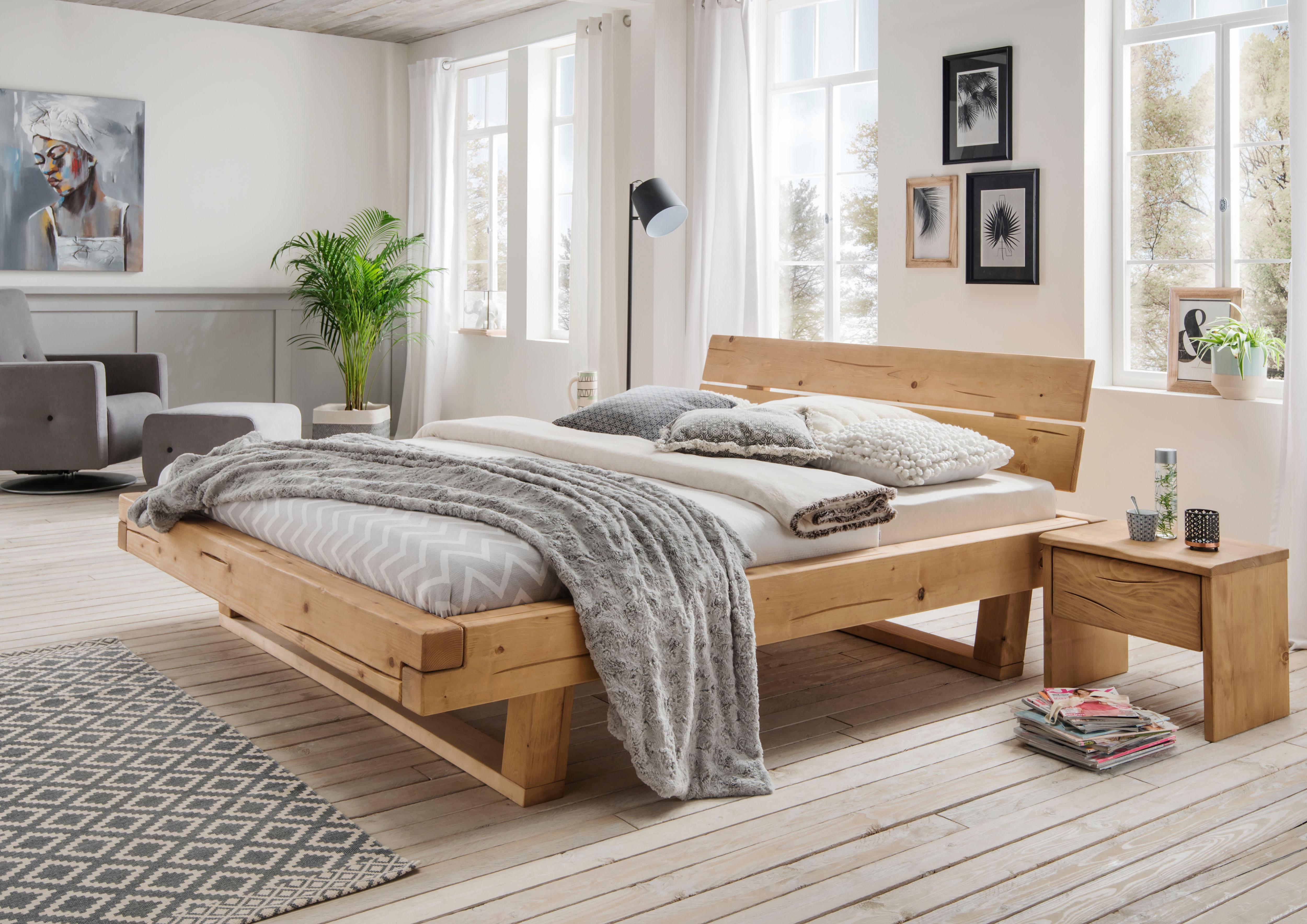 natur-massivholz Komplett-Schlafzimmer online kaufen   Möbel ...