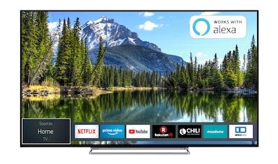 Toshiba LED - Fernseher (50 Zoll, 4K UHD, Smart TV, Triple - Tuner) »50VL5A63DG« kaufen