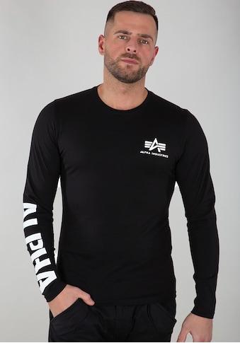 Alpha Industries Langarmshirt »Sleeve Print LS« kaufen