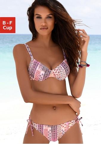 LASCANA Bügel-Bikini, in Patchwork-Optik kaufen