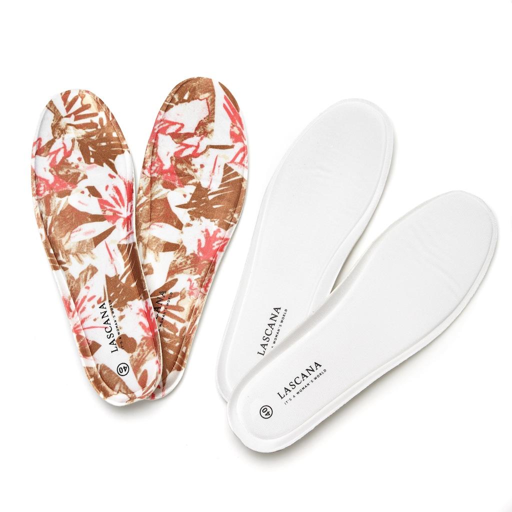 LASCANA Slipper, ultraleichter Sneaker mit softer herausnehmbarer Wechsel- Innensohle