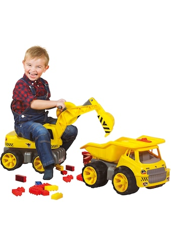 BIG Spielzeug-Bagger »BIG Power Worker Maxi Digger«, Aufsitz-Bagger, Made in Germany kaufen