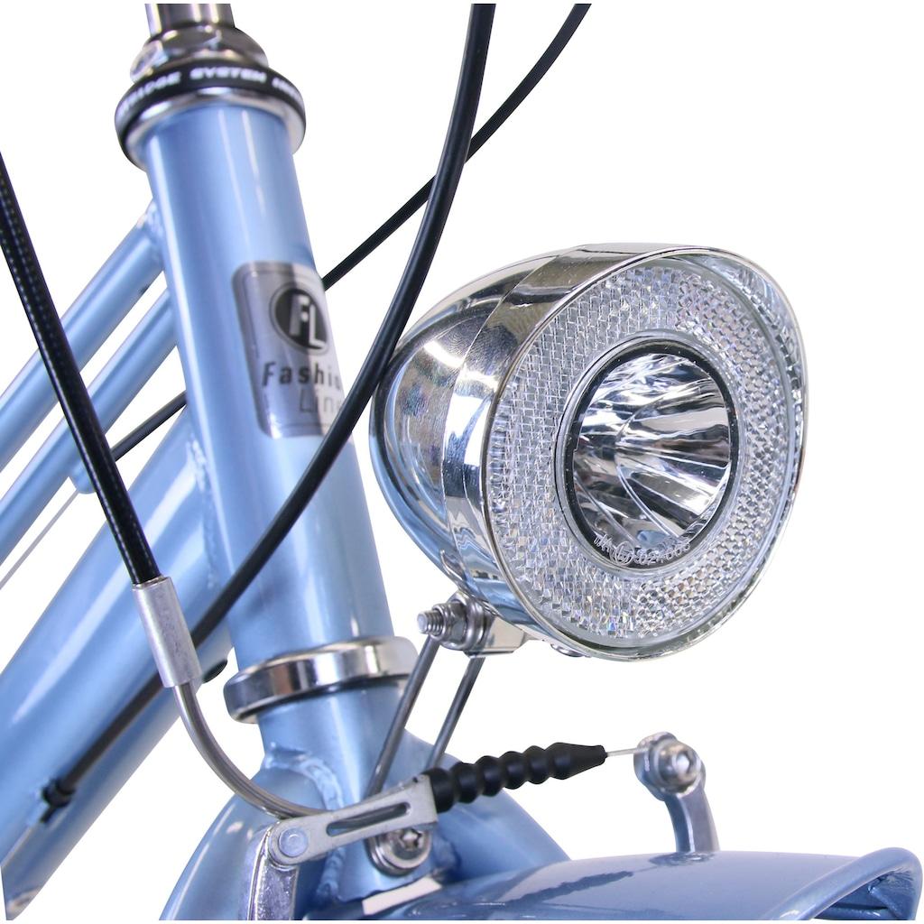 FASHION LINE Urbanbike, 6 Gang, Shimano, TOURNEY TY 300 Schaltwerk, Kettenschaltung