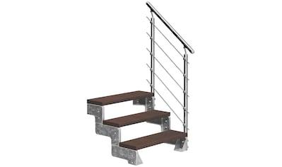 DOLLE Außentreppe »Gardentop«, für Geschosshöhen bis 66 cm, TRIMAX® - Stufen 80 cm kaufen