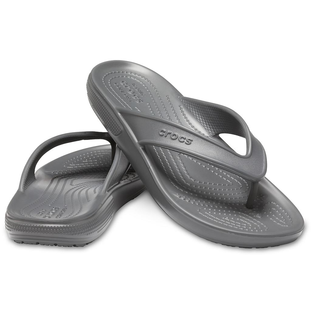 Crocs Zehentrenner »Classic 2 Flip«, für Strand- und Badeausflüge