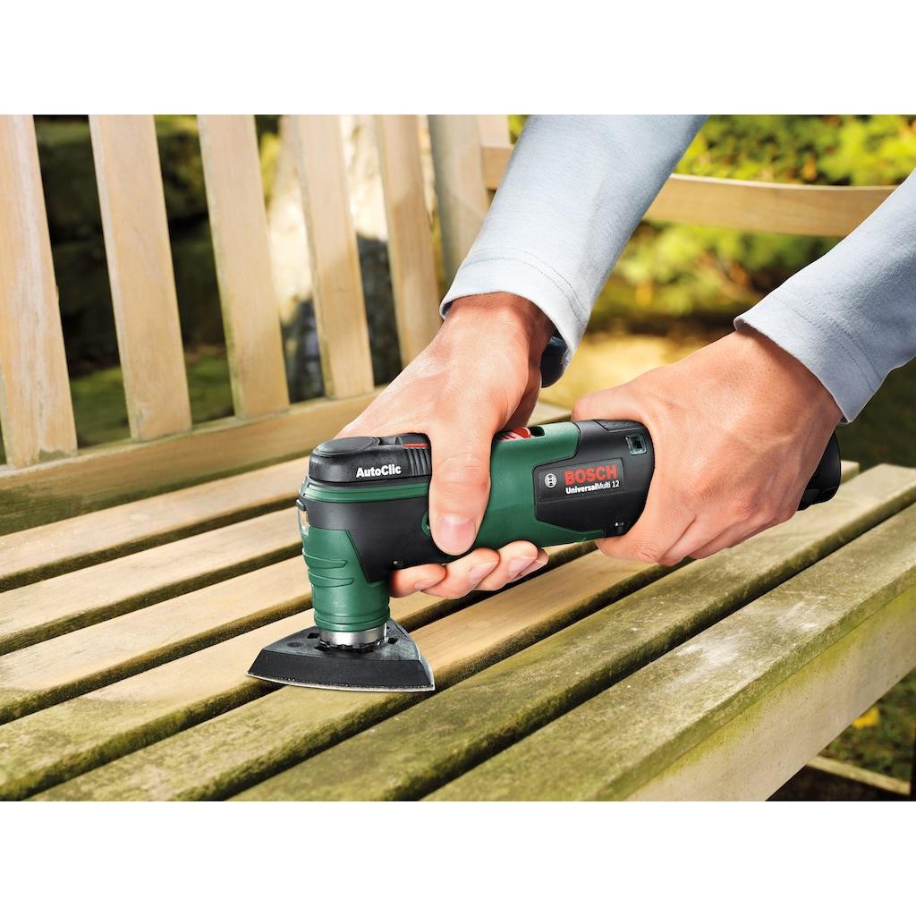 Bosch Powertools Akku-Multifunktionswerkzeug »UniversalMulti 12«, 12 V, ohne Akku und Ladegerät