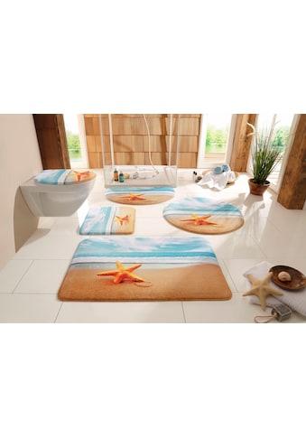 Badematte »Seestern«, my home, Höhe 14 mm, rutschhemmend beschichtet, fußbodenheizungsgeeignet kaufen
